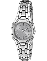 Citizen Womens Eco-Drive Stainless Steel Watch with Date, EW1250-54A