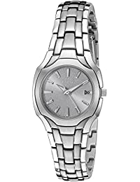 Citizen Women's EW1250-54A Eco-Drive Stainless Steel Grey Dial Watch