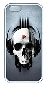 Skull PlayCase For HTC One M8 Cover Case Funny Lovely Best Cool Customize White Cover