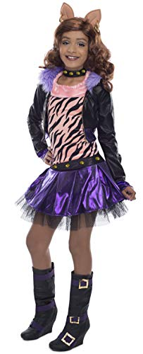 Clawdeen Wolf Costume - Monster High Clawdeen Wolf