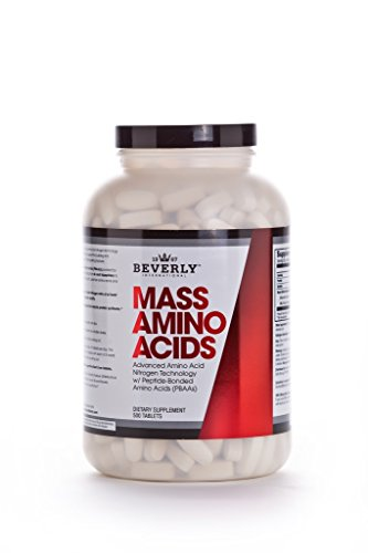 Beverly International Mass Amino Acids, 500 Tablets. They'll think you've been lifting for years by Beverly International