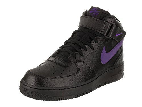 Nike Mens Air Force 1 Mid 07 Scarpa Da Basket Nera