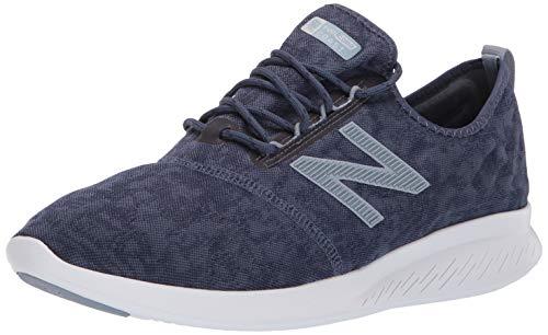 New Balance Men's Coast V4 FuelCore Running Shoe, Reflection/Vintage Indigo/Iron Oxide, 8 4E US