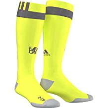 2016-2017 Chelsea Adidas Home Goalkeeper Socks (Solar Slime)