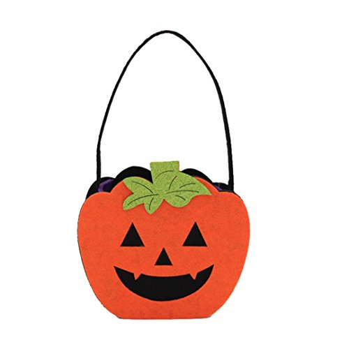 Happy Maison Bonbon Decor Jardin Sac HCFKJ Paquet Orange Snack Enfants Halloween MéNage fZwwHqSxC