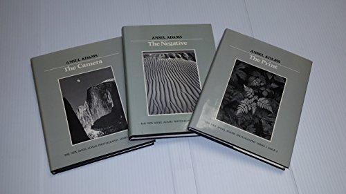 Ansel Adams - The Print, The Negative, The Camera (3 Volume Set)