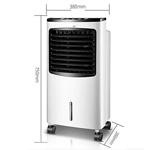 Desktop Fan Home Fan Mobile Air Conditioners Air Cooler Air Conditioner Fan Evaporative Humidifier Air Purifier Air Freshener Household Single Cold Small-scale Remote Control Timing Table Desk Fan for by Gelaiken (Image #1)
