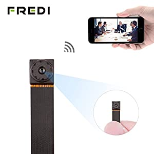 FREDI Wifi Small Camera 720P Wifi Wireless Nanny Cam Mini Home Convert Security Secret Camera