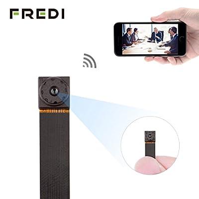 FREDI Wifi Hidden Spy Camera 720P Wifi Wireless Nanny Cam Mini Home Convert Security Secret Camera