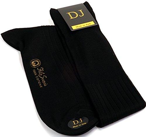 Men Diabetic Socks Relaxmed Soft Cotton Socks For Diabetics 5-11 (UK) 39-46 (EU) 7-12 (US) Black by Daniel Jacob