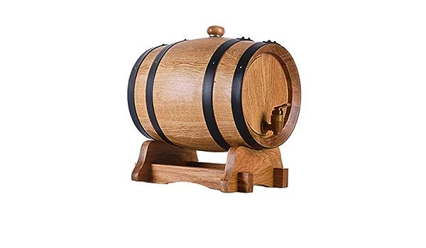 RUOLH Oak Barrel, Botas Madera De Roble De Vino, Barril De ...