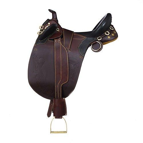 - AOC Stockman Bush Rider Saddle w.Horn Wide Tree 19