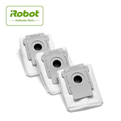 iRobot Authentic Replacement Parts- Clean Base Automatic Dirt Disposal Bags, 3-Pack, Compatible with All Clean Base models, White - 4640235