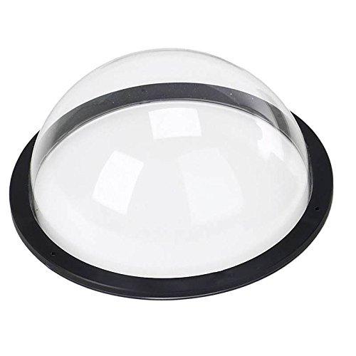 Multi-purpose Acrylic Polycarbonate Dome Plastic Hemisphere, Transparent Fence Window for Dogs (Diameter -