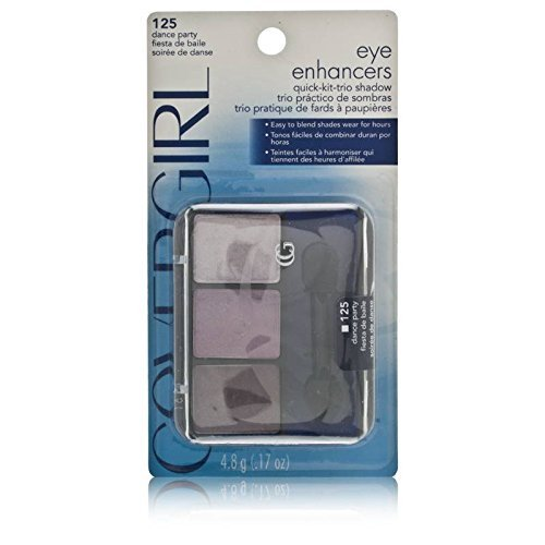 CoverGirl Eye Enhancers 3 Kit Shadow, Dance Party 125, 0.14 Ounce Package by COVERGIRL ()