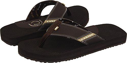 Cobian Eva Sole Sandals - Cobian Mens Men's ARV Sandal, Chocolate, 13 M US