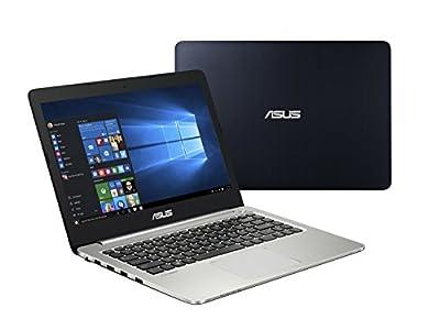 """Asus K401 14"""" Ultra Slim Full HD Notebook Computer, Intel Core i7-5500U 2.4GHz, 8GB RAM, NVIDIA GeForce 940M GDDR3 2GB, 750GB HDD, Windows 10"""