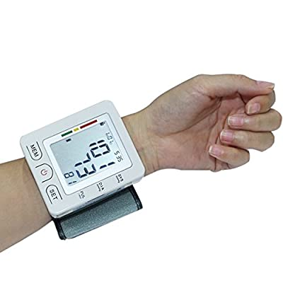 Euph Wrist Blood Pressure Monitor Cuff with LCD Display