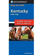 Rand McNally Easy to Fold: Kentucky (Laminated Fold Map)