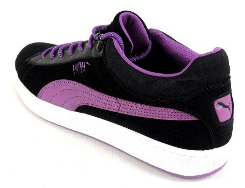 Puma - Zapatillas de deporte de ante para hombre negro - negro