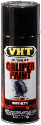 VHT (SP734-6 PK) Gloss Black High Temperature Brake Caliper Paint - 11 oz. Aerosol, (Case of 6)