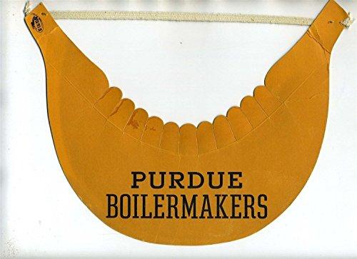 Purdue University Boilermakers Vintage Paper Visor 1950's Paperlynen from Generic