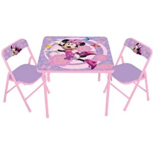 Kids Only Disney's Minnie Mouse Bowtique Activity Table Set