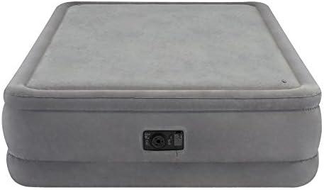 Intex - Colchón hinchable PremAire Plus y Espuma - 152 x 203 x 51 cm (64470) (modelo variable según imagen)