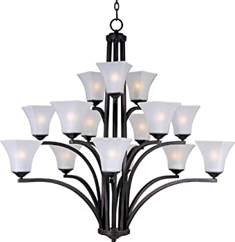 Maxim Lighting Aurora 15-Light Multi-Tier Chandelier