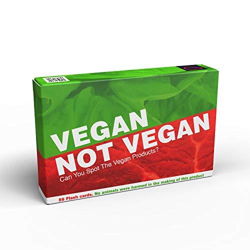 Bubblegum Stuff – Vegan Not Vegan Game   Guess The Vegan Products Fun Flash Card Game – Fun Yes Or No Guessing Game…