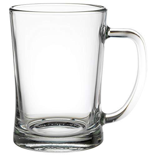 IKEA 100.922.16 Mjöd Beer Mug, Clear Glass ()