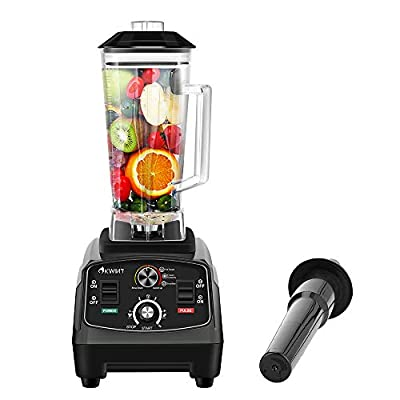Smoothie Blender, OKWINT Professional High Speed Blender, 70 Oz BPA-Free Countertop Blender with 1450-watt Base and Total Crushing Technology for Smoothies, Frozen Fruit and Ice , Blender Bottle, Black