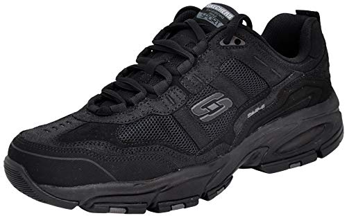 - Skechers Sport Men's Vigor 2.0 Trait Memory Foam Sneaker, Black/Charcoal, 9.5 M US