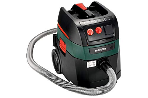 Extractor Vacuum Commercial - Metabo ASR 35 AutoCleanPlus 11 AMPS 9 Gallon AutoClean HEPA All-purpose Vacuum Cleaner 157 CFM (602057800)