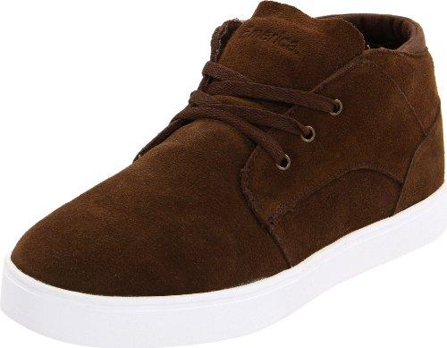 Emerica Men's G-Code Skate Shoe,Dark Brown Suede,9 D US