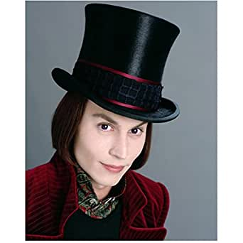 Johnny Depp as Willy Wonka Head Shot Smile 8 x 10 Inch Photo at Amazon's Entertainment