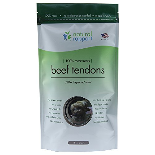 - Dog Treats for Small and Large Dogs, Dog Training Treats, Grain-Free Dog Treats, Beef Tendon Dog Snacks, Dog Chews with USDA-Inspected Meat