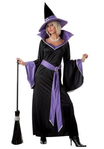 California Costumes Women's Incantasia, The Glamour Witch,Black/Purple,Large Costume