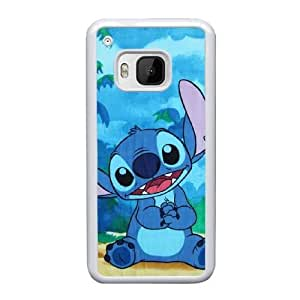 HTC One M9 Cell Phone Case White Disneys Lilo and Stitch AS7YD3574666