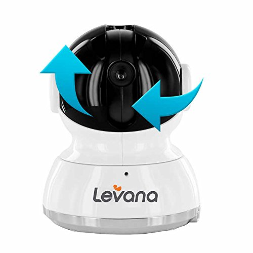 "LEVANA Willow 5"" Touchscreen High Resolution PTZ Video Baby Monitor"