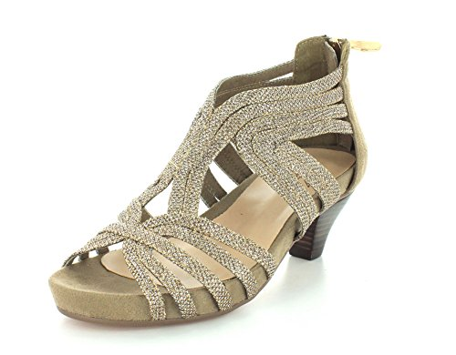 Esthetic Womens Soft Spring Gold Step XT8qEw
