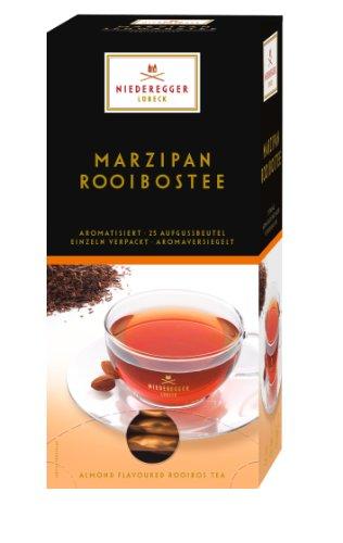 Niederegger Marzipan-Rooibos-Tee, 25 Beutel, 2er Pack (2 x 43,75 g)