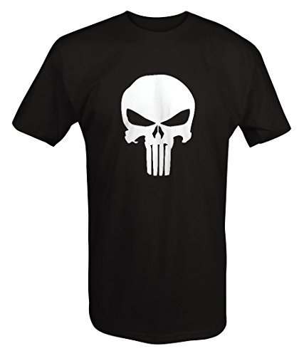 The Punisher Skull - Military Outdoor - T Shirt - 3XL