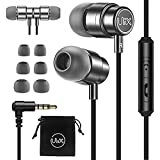 ULIX Rider Earphones in-Ear Headphones with Mic, 3 Years Warranty, with Anti-Tangle, Reinforced Cable, Microphone, Super Resi