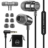 ULIX Rider Earphones in-Ear Headphones with Mic, 3 Years Warranty, with Anti-Tangle, Reinforced Cable, Microphone, Super…