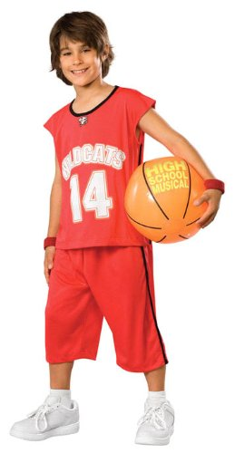 Troy Basketball Costume - Child Large