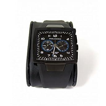 Cronografo Piquadro Wwwatch nero uomo in titanio satinatocon quadrante impermeabile fino a 5 ATM OR1009WW-N