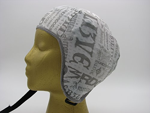 Wrestling Hair Cap- Tapout- New in 2016! (Gray Trim) (Wrestling Hair Gear compare prices)