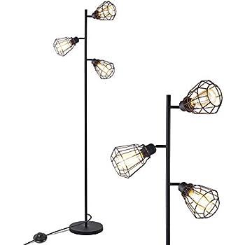 Amazon.com: StyleCraft - Lámpara de pie con 3 bombillas ...