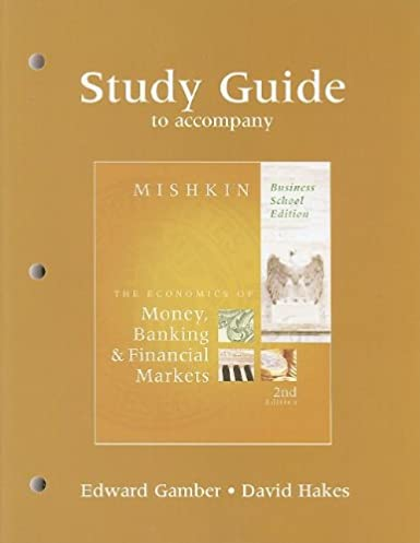 study guide for the economics of money banking and financial rh amazon com Spanish Grammar Guide Spanish Grammar Guide